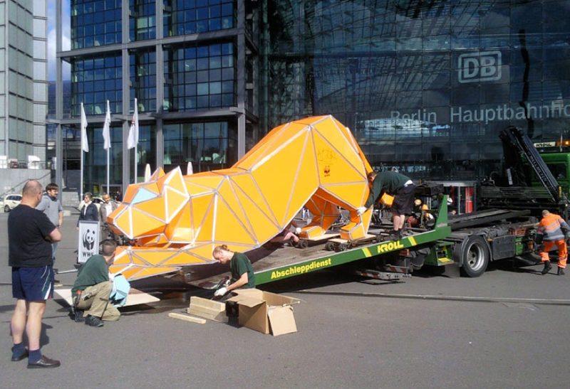 Tiger transport