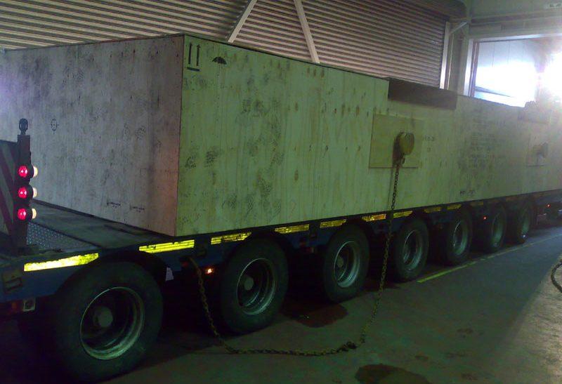65 Tonnen nach Baltimore