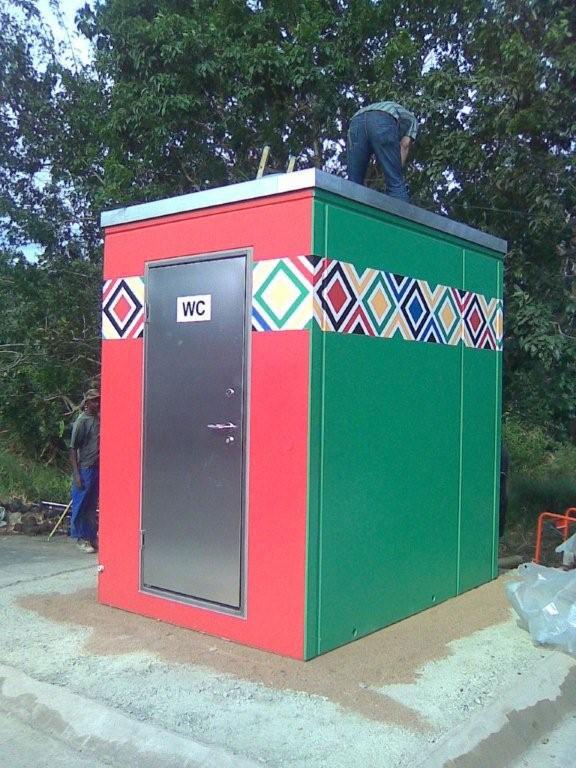 Toilettentransport nach Durban