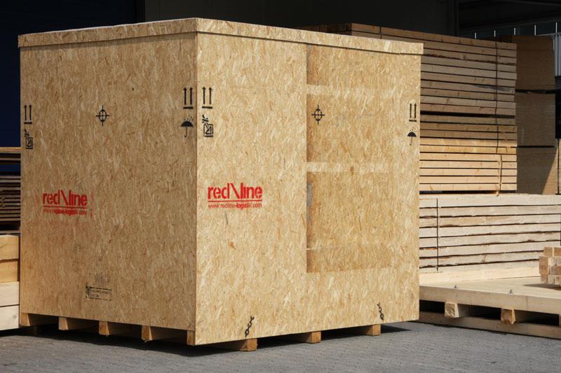Verpackungsanlage und Lagerhalle
